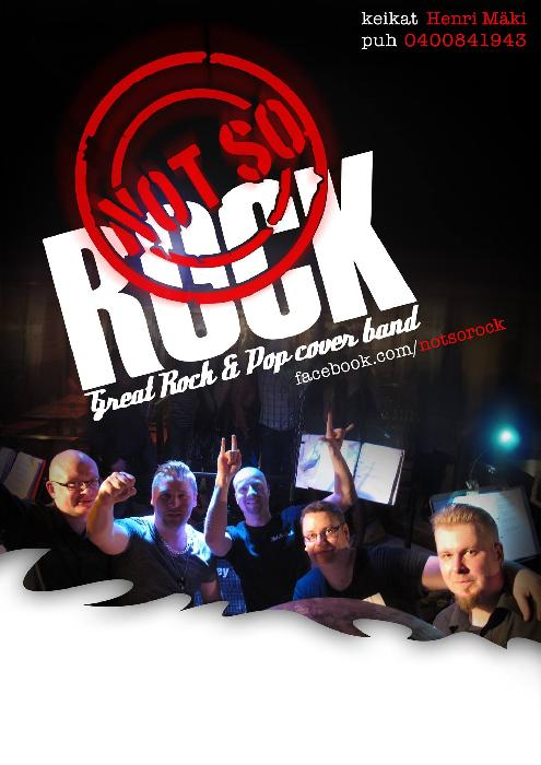 NotSoRock - Great cover rock/pop band