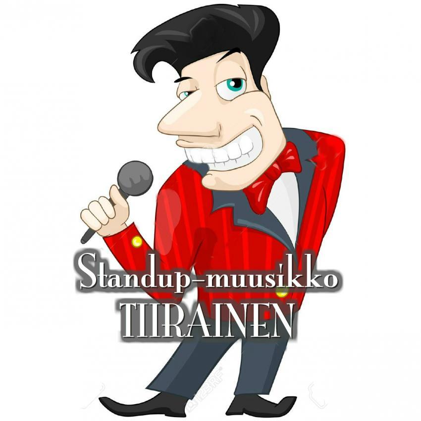Standup-muusikko Tiirainen
